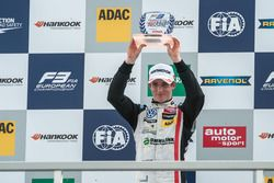 podium, rookies, Joel Eriksson, Motopark Dallara F312 - Volkswagen