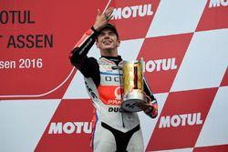 Podio: il terzo classificato Scott Redding, Pramac Racing