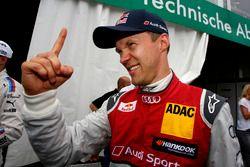 Fastest in Qualifying: Mattias Ekström, Audi Sport Team Abt Sportsline, Audi A5 DTM