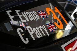 Elfyn Evans,Craig Parry, M-Sport Ford Fiesta WRC