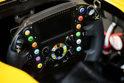 Renault Sport F1 Team RS16 steering wheel
