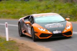 Lamborghini Huracan voor crash