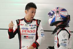 Kazuki Nakajima en Anthony Davidson, Toyota Racing