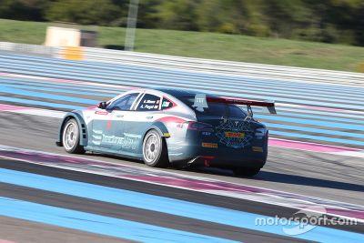 Heinz-Harald Frentzen Electric GT testing
