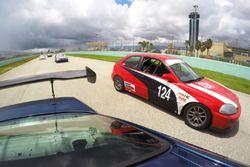 #124 MP4C Honda Civic: Julio Torres of Acosta Motorsports DRT
