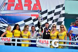 FARA Race of Champions MP4B podium