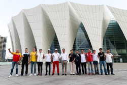 All drivers at Shanghai Oriental Sports Center