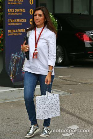 Fabiana Flosi, esposa de Bernie Ecclestone,