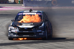 Toshihiro Arai, Subaru on fire