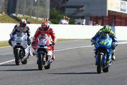 Yonny Hernandez, Aspar Racing Team, Andrea Dovizioso, Ducati Team, Aleix Espargaro, Team Suzuki MotoGP
