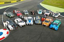 Cars and drivers at the Motorsport Festival