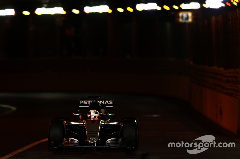 21: Гран прі Монако, Монте-Карло. Льюіс Хемілтон, Mercedes AMG F1 W07 Hybrid