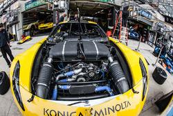 #63 Corvette Racing - GM Chevrolet Corvette C7R motor