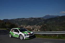 Umberto Scandola e Guido D'amore, Skoda Fabia R5 Skoda Motorsport Italia