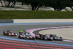 Sesión de fotos de coches de LMP1