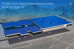 Faraday Future, Zeichnung der Fabrik in Las Vegas