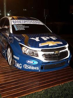 El Chevrolet Cruze oficial para la temporada 2016