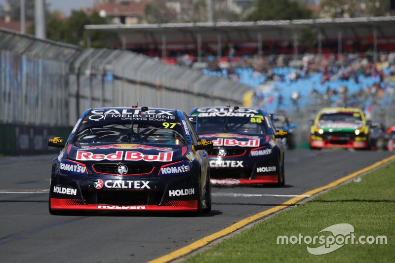 Shane van Gisbergen, Triple Eight Race Engineering Holden and Jamie Whincup, Triple Eight Race Engineering, Holden