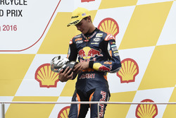 Podium: third place Bo Bendsneyder, Red Bull KTM Ajo