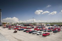 Ferrari parking lot