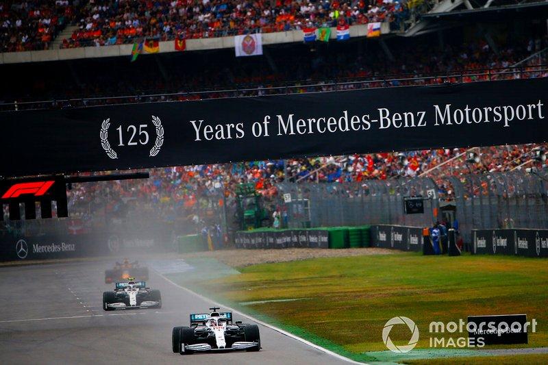 Lewis Hamilton – Volta de apresentação