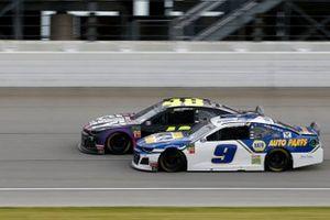 Chase Elliott, Hendrick Motorsports, Chevrolet Camaro NAPA AUTO PARTS Jimmie Johnson, Hendrick Motorsports, Chevrolet Camaro Ally