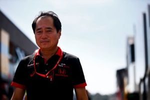 Toyoharu Tanabe, F1 Technical Director, Honda in the paddock