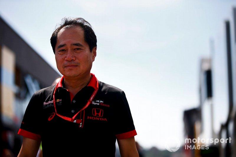 Toyoharu Tanabe, directeur technique F1 de Honda dans le paddock
