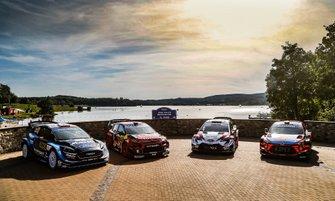 Tutte le auto al Day 1 del Rally di Germania