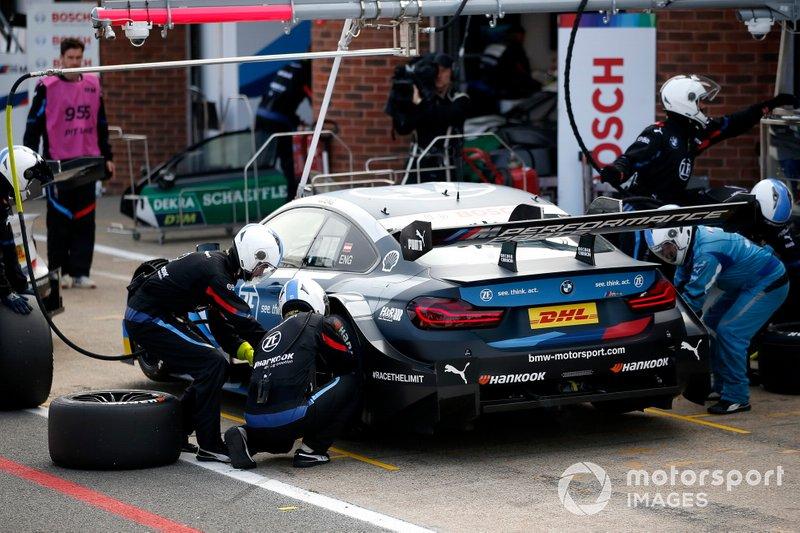 Pitstop, Philipp Eng, BMW Team RBM, BMW M4 DTM