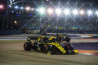 Nico Hulkenberg, Renault F1 Team R.S. 19 et Daniel Ricciardo, Renault F1 Team R.S.19