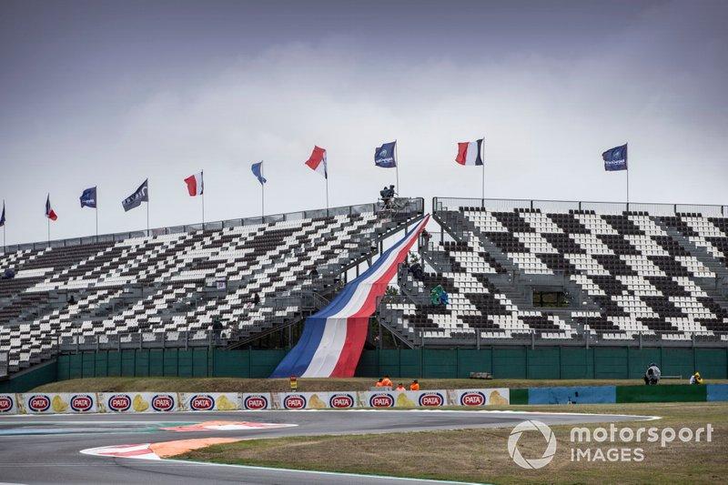 Última curva del circuito de Magny-Cours