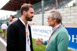 Jean-Eric Vergne in gesprek met Jacky Ickx