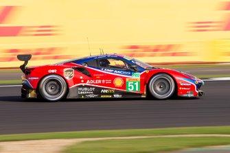 #51 AF CORSE - Ferrari 488 GTE EVO: James Calado, Alessandro Pier Guidi