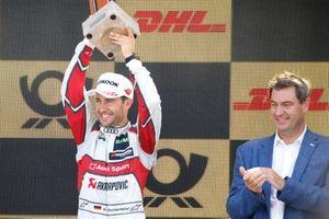 Podium: third place Mike Rockenfeller, Audi Sport Team Phoenix
