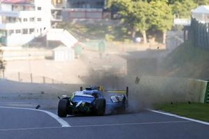 Crash, #31 Algarve Pro Racing Oreca 07 Gibson: Tacksung Kim, Henning Enqvist, James French