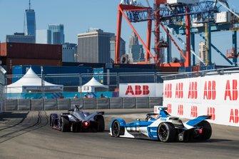 Sam Bird, Envision Virgin Racing, Audi e-tron FE05 Antonio Felix da Costa, BMW I Andretti Motorsports, BMW iFE.18