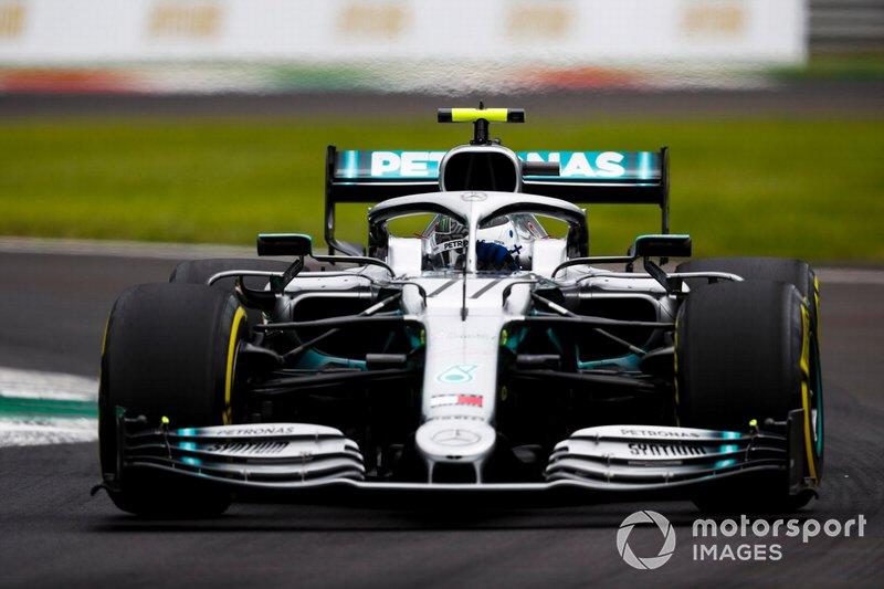 3 - Valtteri Bottas, Mercedes AMG W10 - 1'19.354