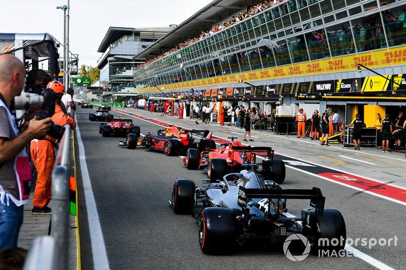 """Vettel: """"Tell Charles to go."""""""