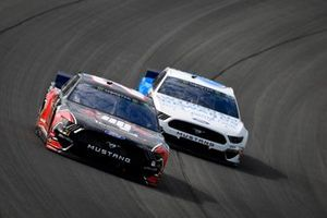 Paul Menard, Wood Brothers Racing, Ford Mustang Master Techs/Quick Lane Tire & Auto Center, Ryan Newman, Roush Fenway Racing, Ford Mustang Wyndham Rewards
