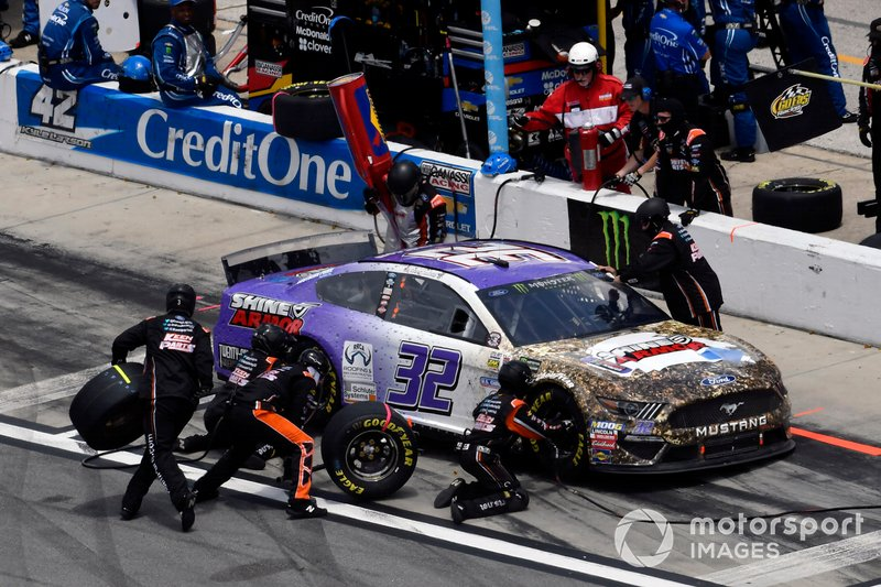 Corey LaJoie, Go FAS Racing, Ford Mustang Shine Armor