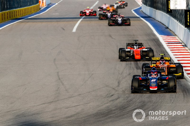 Nobuharu Matsushita, Carlin, Jack Aitken, Campos Racing and Jordan King, MP Motorsport