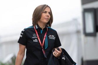 Claire Williams, Williams Racing