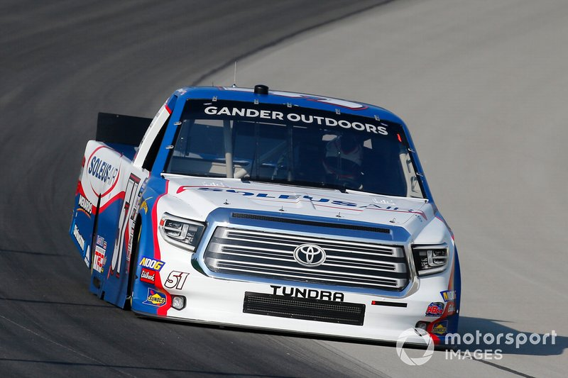 Brandon Jones, Kyle Busch Motorsports, Toyota Tundra SoleusAirMenards