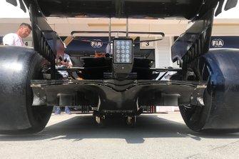 McLaren MCL34, diffuser