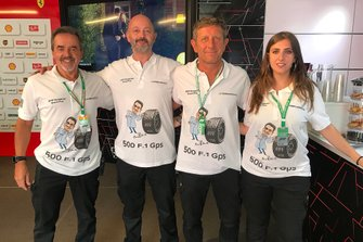 Dr. Riccardo Ceccarelli, Formula Medicine with his team