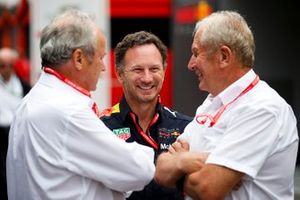 Christian Horner, Team Principal, Red Bull Racing and and Helmut Marko, Consultant, Red Bull Racing