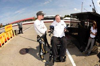 Marcus Ericsson, Arrow Schmidt Peterson Motorsports Honda, Marcus Ericsson and Sam Schmidt