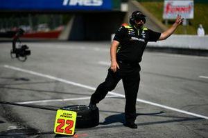 Trevor Lacasse, le chef mécano de Simon Pagenaud, Team Penske Chevrolet