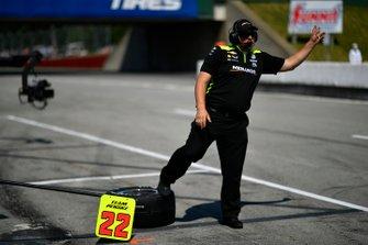 Simon Pagenaud, Team Penske Chevrolet, Trevor Lacasse, Car Chief
